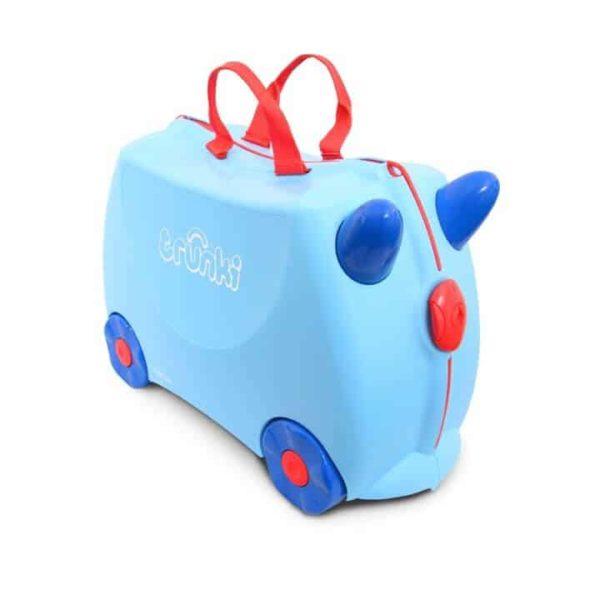 Trunki Çocuk Bavulu Açık Mavi George
