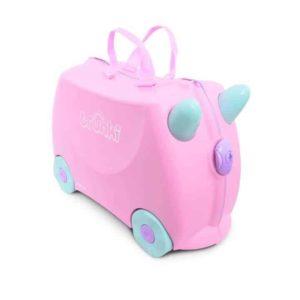 Trunki Çocuk Bavulu Açık Pembe Rosie