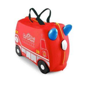 Trunki Çocuk Bavulu - İtfaiye Aracı Frank