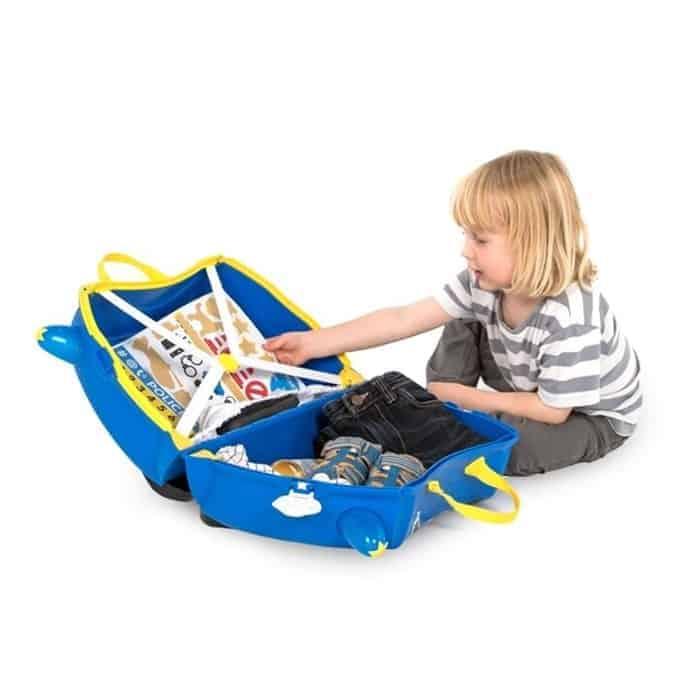Trunki Çocuk Bavulu - Polis Arabası Percy