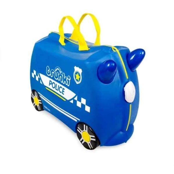 Trunki Çocuk Bavulu Polis Arabası Percy