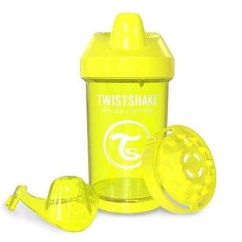 TwistShake Crawler Cup Damlatmaz Suluk Sarı (300 ml)