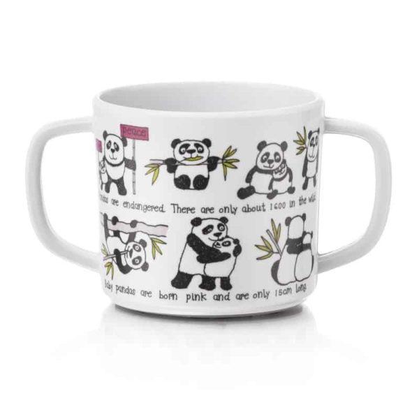 Tyrrell Katz Kulplu Alıştırma Bardağı (Panda)