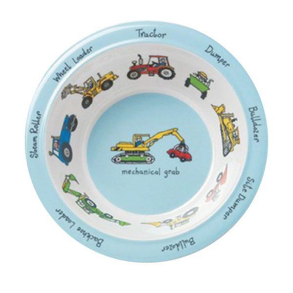 Tyrrell Katz Melamin Çocuk Yemek Kase İş Araçları