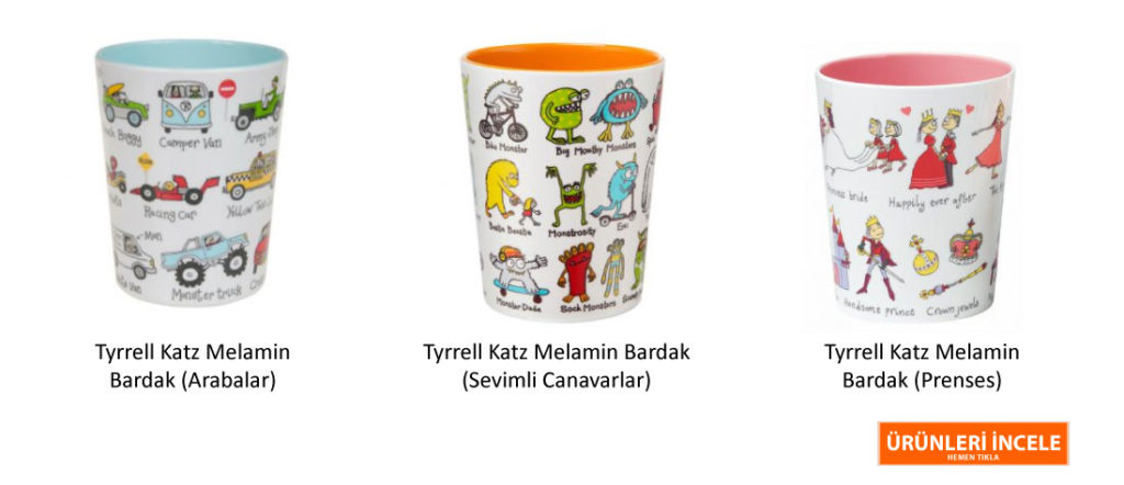 Tyrrell Katz Melamin Bardak