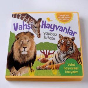 Puzzle Kitaplar - Vahşi Hayvanlar