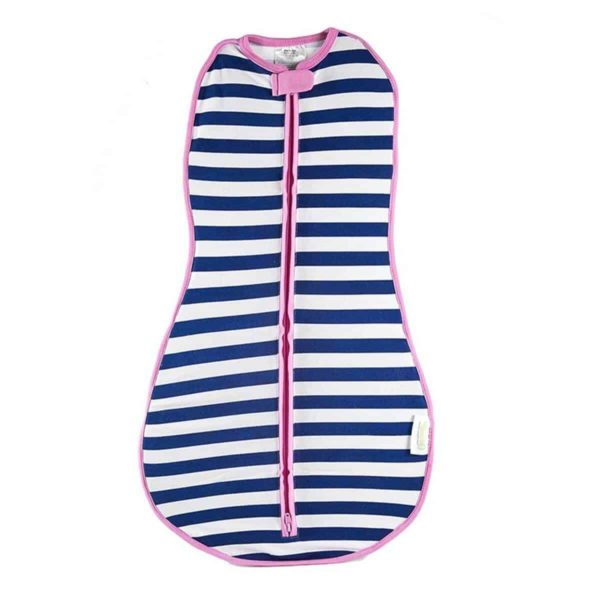 Woombie Original Kundak Navy Stripe Girl (6