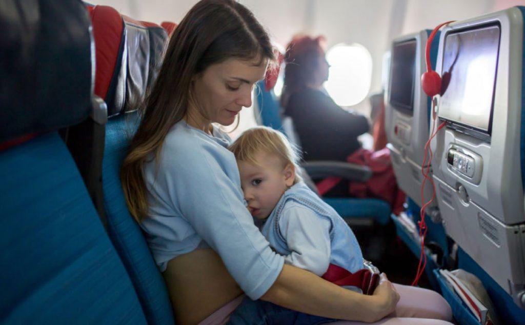 6 Aylık Bebekle Uçak Yolculuğu