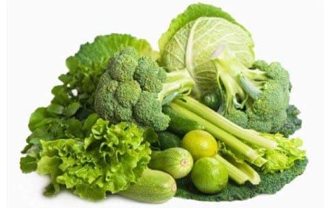 anne sütünü arttıran besinler Yeşil Yapraklı Sebzeler