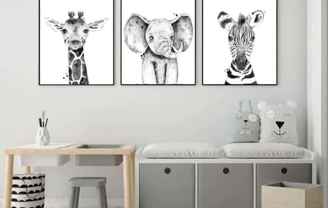 Bebek Odası Dekorasyon Objeleri