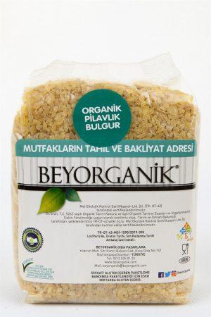 Beyorganik Organik Pilavlık Bulgur 500 Gr