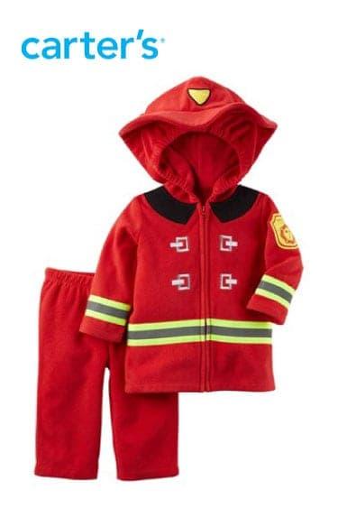 cartersoshkosh erkek bebek kostüm fireman