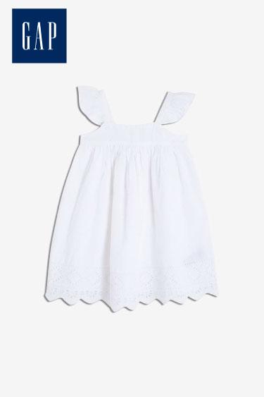 gap kız bebek fırfırlı elbise