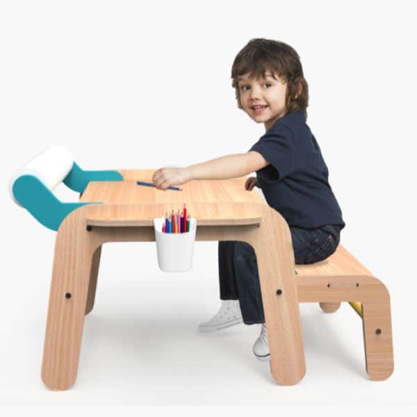Mamatoyz Masa Aktivite ve Çalışma Masası Standart Boy 5