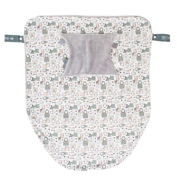 Panda Pals Cheeky Blanket