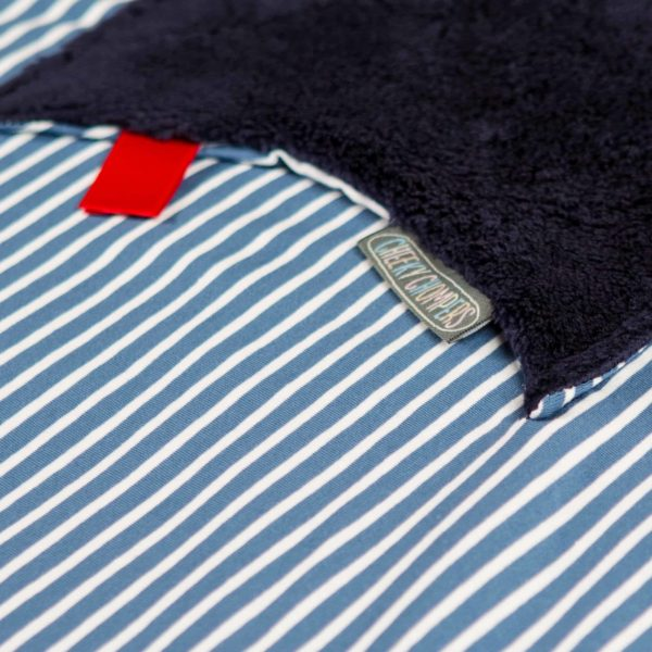Preppy Stripes Cheeky Blanket