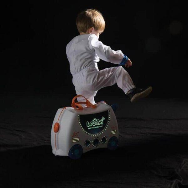 Trunki Çocuk Bavulu Uzay Gemisi Skye 3