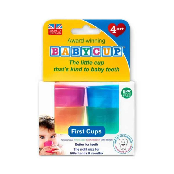 Baby cup ilk bardaklar 4 lü paket 6