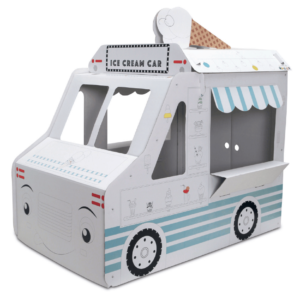 Little Maker Boyanabilir Maket Ice Cream Car