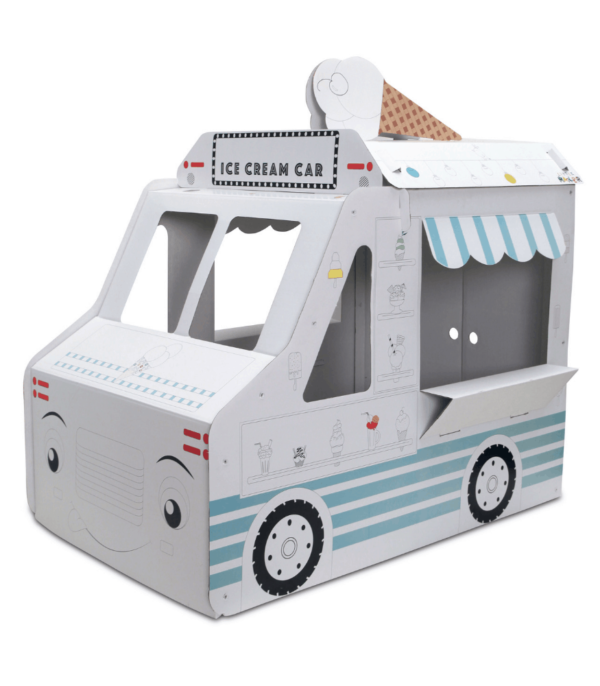Little Maker Boyanabilir Maket Ice Cream Car