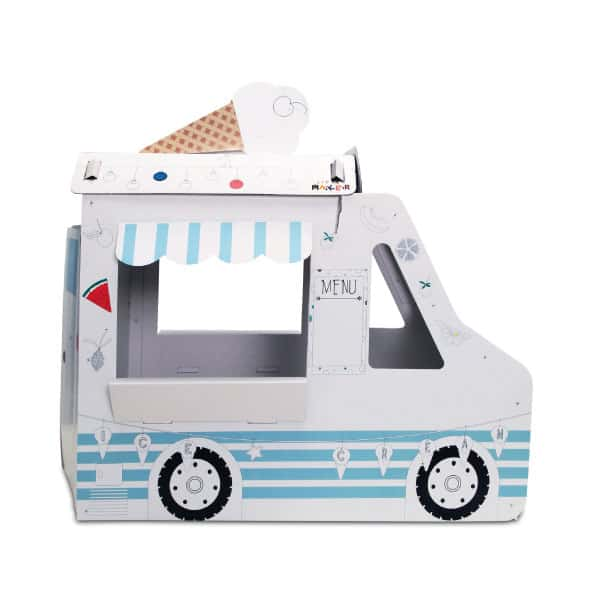 oyun maketi ice cream car
