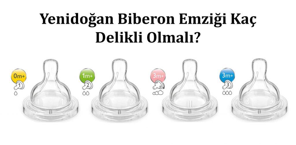 Yenidoğan Biberon Emziği Kaç Delikli Olmalı