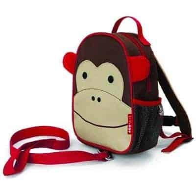 Skip Hop Emniyet Kemerli Sırt Çantası Maymun 1