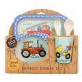 Tyrrell Katz Bambu Çocuk Yemek Seti iş araçları 2