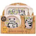 Tyrrell Katz Bambu Çocuk Yemek Seti Panda 2