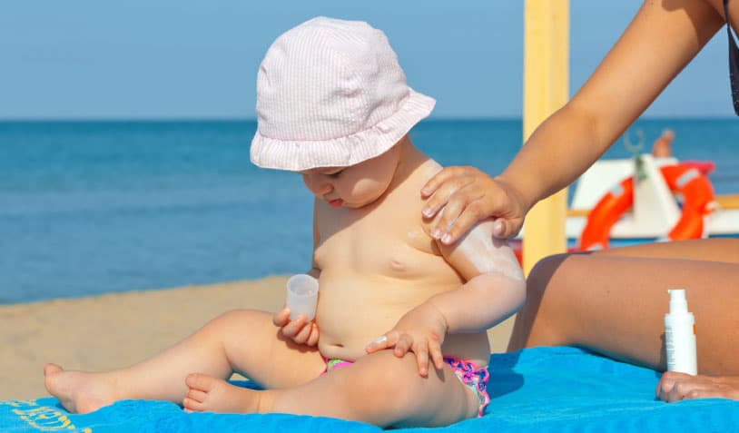 Bebek Güneş Kremi Seçerken Dikkat Etmeniz Gerekenler 3