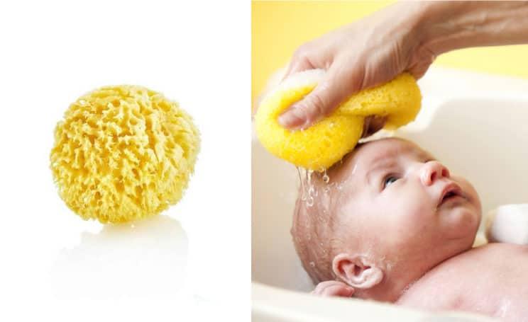 Bebek Yıkama Süngeri