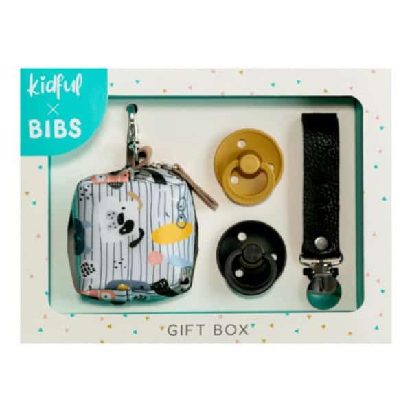 Kidful - Bibs Gift Box Woof