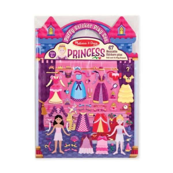 Melissa Doug Kabartmalı Tak Çıkar Çıkartma Seti Prenses