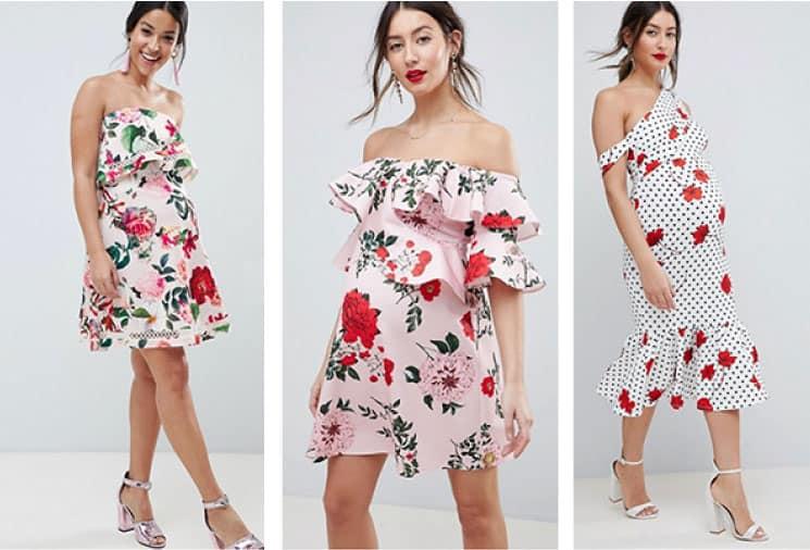 Özel Gün Gebe Elbise Modelleri