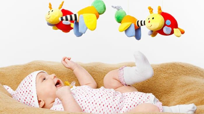 1 Aylık Bebek Oyunları