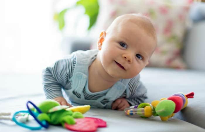 5 Aylık Bebek Oyunları