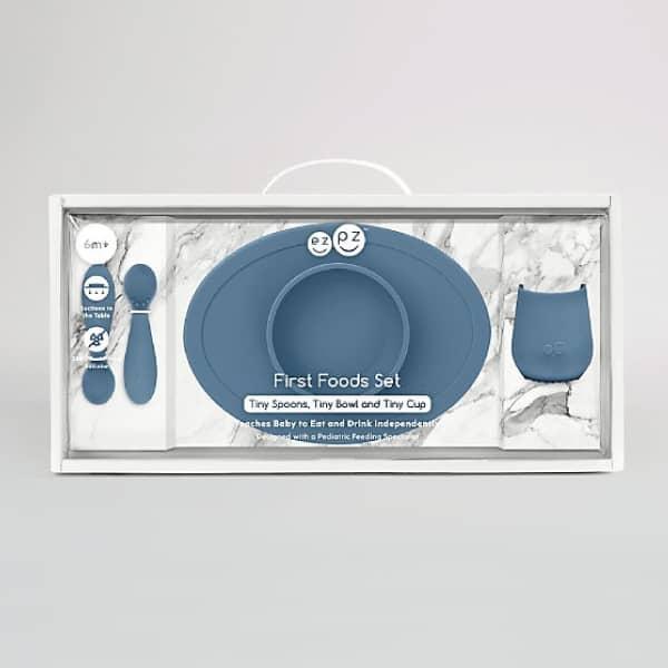 Ezpz First Foods Set İndigo 2
