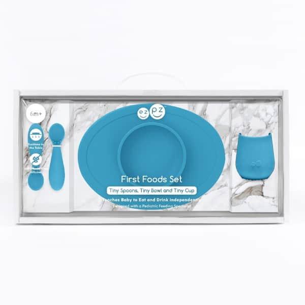 Ezpz First Foods Set Mavi