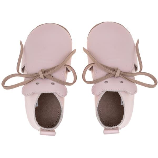 Merli&Rose Deri Teddy Bebek Ayakkabı Açık Pembe 4