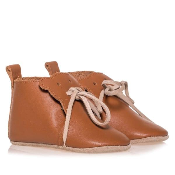 Merli&Rose Deri Teddy Bebek Ayakkabı Taba 2