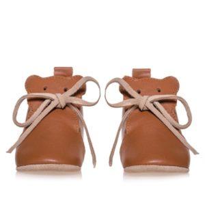 Merli&Rose Deri Teddy Bebek Ayakkabı Taba