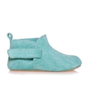 Merli&Rose Süet Çift Bantlı Bebek Ayakkabı Su Yeşili