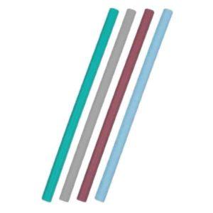 Oioi Pipet Silikon 4'lü Mix Mavi