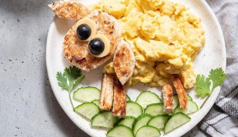 9 Aylık Bebek Kahvaltısı Örnek Menü 2: Sebzeli Omlet