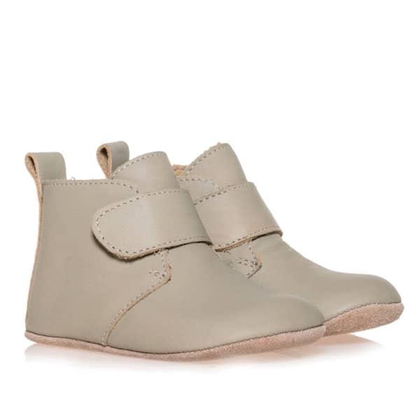 Merli&Rose Deri Cırtlı Bebek Bot Ayakkabı Adaçayı 2
