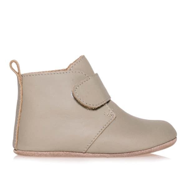 Merli&Rose Deri Cırtlı Bebek Bot Ayakkabı Adaçayı