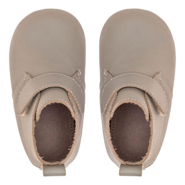 Merli&Rose Deri Cırtlı Bebek Bot Ayakkabı Adaçayı 4