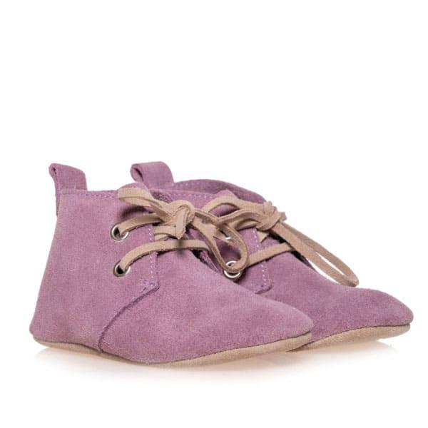Merli&Rose Süet Oxford Bebek Ayakkabı Lila 2