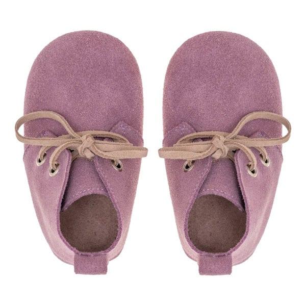 Merli&Rose Süet Oxford Bebek Ayakkabı Lila 4