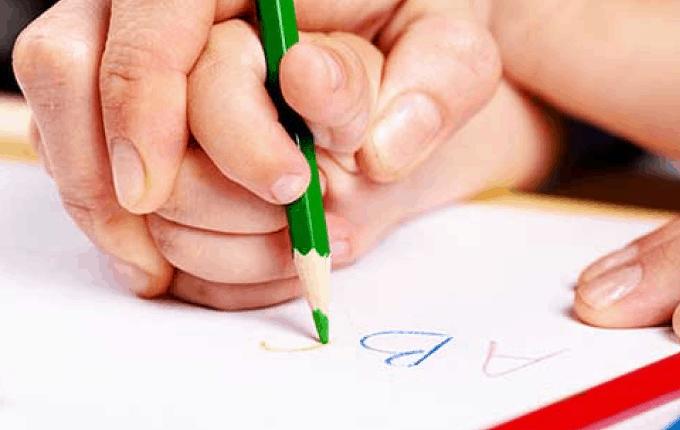 Parmaklar Kalem Tutmaya Alışsın